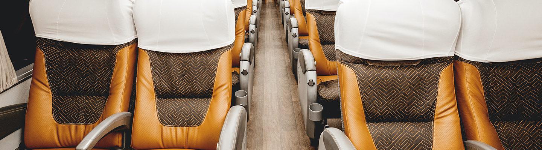 ônibus ideal para viajar
